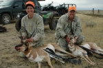 SANDY AND MARK YATES  ANTELOPE HUNTING IN CHINOOK MONTANA OCTOBER 2006