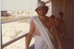 'Navarre Beach Toga party tonight, baby. You be here!!'...Gil...Sr. trip...'79
