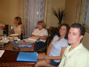 July 12 meeting - Suzy, Cindy, Lisa and Mike